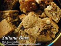 Sultana Bars
