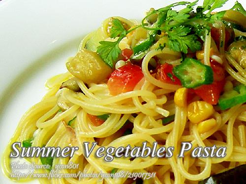Summer Vegetables Pasta