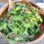Sweet Pickled Salad