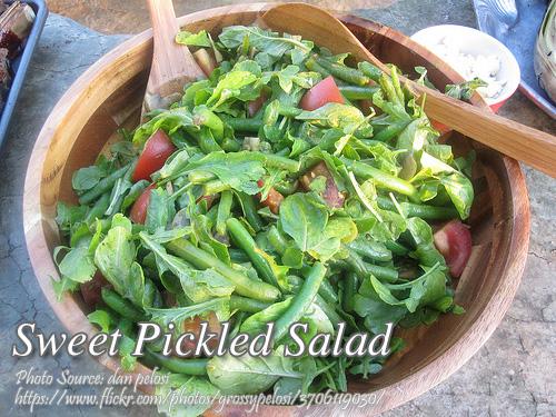 Sweet Pickled Salad