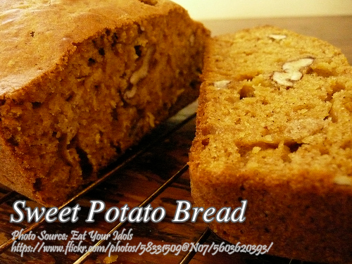 Kamote or Sweet Potato Bread (Quick Bread Style)