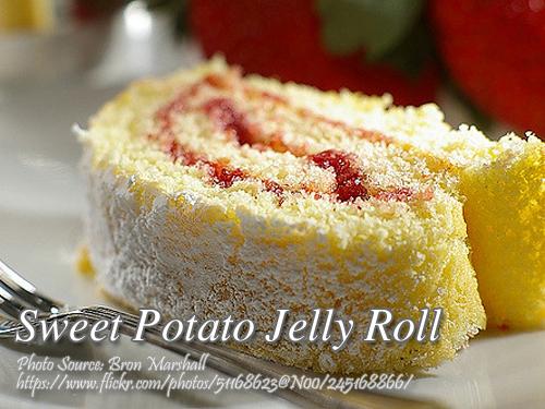 Sweet Potato Jelly Roll