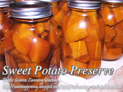 Sweet Potato Preserve