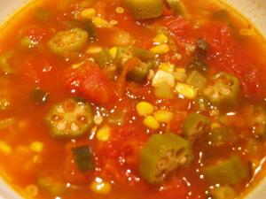 Tomato Okra Soup