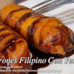 Turones Filipino Con Yema
