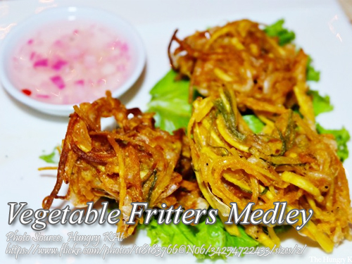 Vegetables Fritters Medley