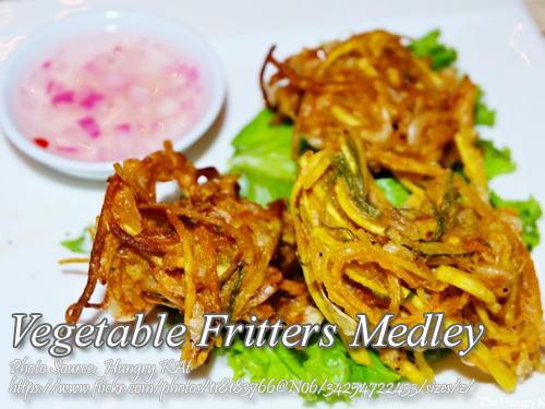 Vegetables Fritters Medley