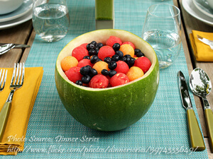 Watermelon Fruit Boat
